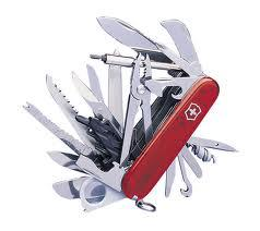 Ever feel like a Swiss army knife?